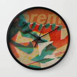 Nike Dunk Hi Pro SB Supreme   Highsnobiety Wall Clock