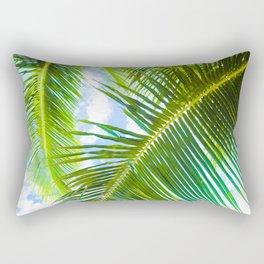 Aloha Lāhainā Palms Maui Hawaii Rectangular Pillow