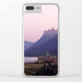 Waterton Lakes National Park Alberta Canada Clear iPhone Case