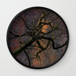 Crazy tree Wall Clock