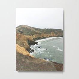 CALIFORNIA COAST IV Metal Print