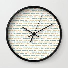 I Love You Morse Code Wall Clock