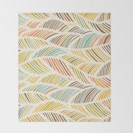 Fine Feather Pattern Throw Blanket