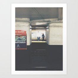 city hall/bsl Art Print