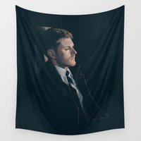 dean winchester Wall Tapestries featuring Dean Winchester. Season 9 by Armellin
