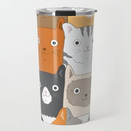 Herded Cats Travel Mug