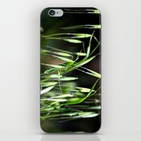 grass iPhone & iPod Skins featuring grass by  Agostino Lo Coco