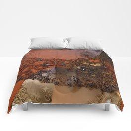 Study of textures and terra cotta Comforters
