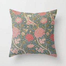 William Morris Cray Pattern Throw Pillow