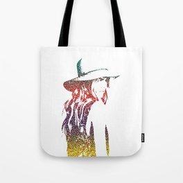Girl On The Beach Tote Bag