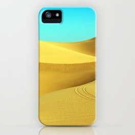 Mystical Hot Desert iPhone Case