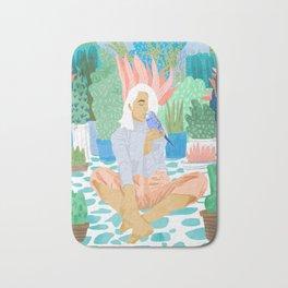 Early Lovebird Bath Mat