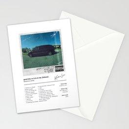 Kendrick Lamar - good kid, m.A.A.d city (Deluxe) - Album Art Stationery Cards