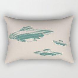 Disco Volante Rectangular Pillow