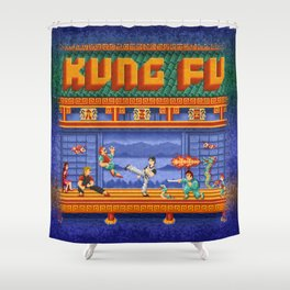 Fu Kung Shower Curtain