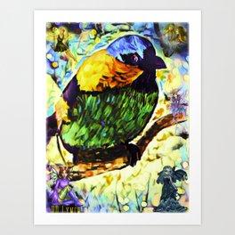 Autumn Dreams Art Print