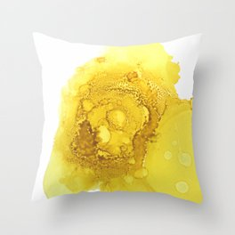 Manipura (solar plexus chakra) Throw Pillow
