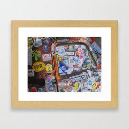 Stickers Framed Art Print