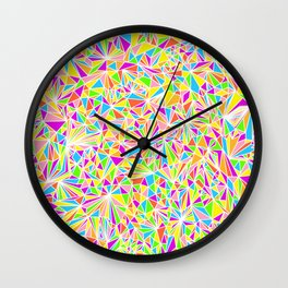 Pure Geometry White Wall Clock