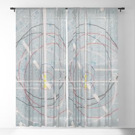 One world Sheer Curtain