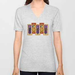 Card Collectors - Time Lords Unisex V-Neck