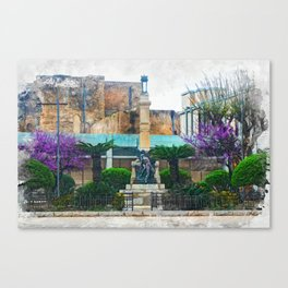 Trapani art 12 Sicily Canvas Print