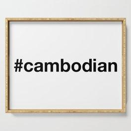 CAMBODIA Serving Tray