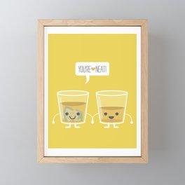 You're Neat! Framed Mini Art Print
