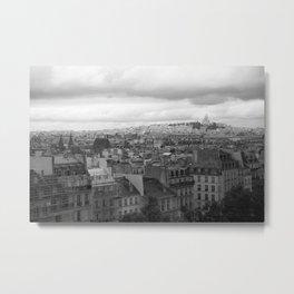 Parisienne Skyline Metal Print
