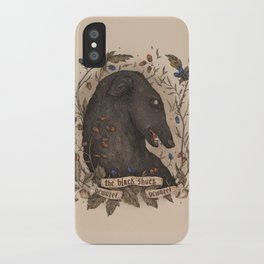 Beware, the Black Shuck iPhone Case