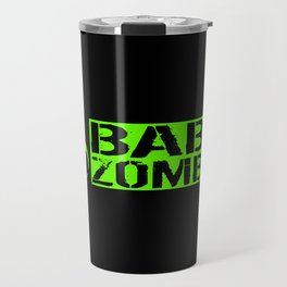 Baby Zombie: Biohazard Travel Mug