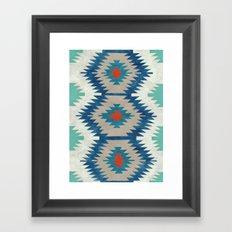 kilim I Framed Art Print