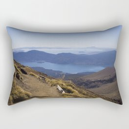 A long walk home - New Zealand Rectangular Pillow
