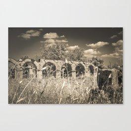Roman amphitheatre Canvas Print