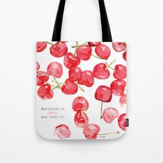 Cherry pies Tote Bag
