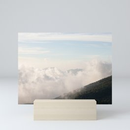 contrast in nature concept Mini Art Print