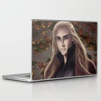 thranduil Laptop & iPad Skins featuring Thranduil by Hanna Nordin
