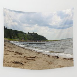 Day at the Lake Wall Tapestry