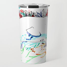 whale,natr andoen Travel Mug