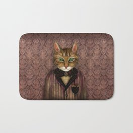 Sir Harold And His Mouse Betty Bath Mat