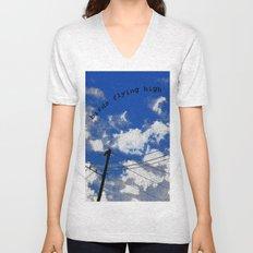 Birds Flying High Unisex V-Neck