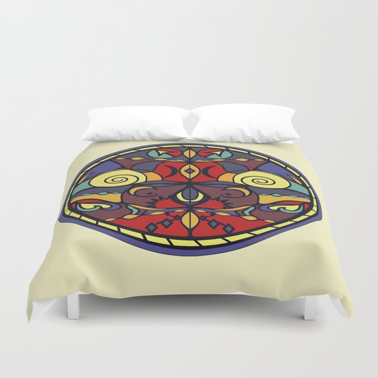Surface Symmetry Duvet Cover