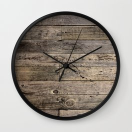 Summer Wood '15 Wall Clock
