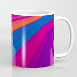 Abstract geometric pattern. Multicolored Coffee Mug