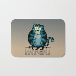 Fat Cat Bath Mat