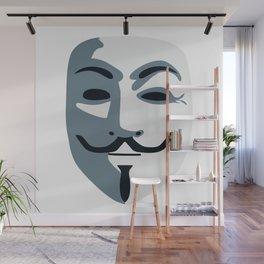 Anonymous Mask #society6 #decor #buyart #artprint Wall Mural