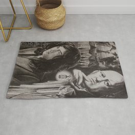 Mr. Page And Mr. Crowley Rug