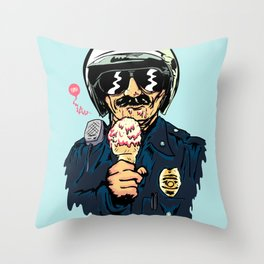 Oh Officer! Throw Pillow