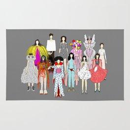 Outfits of Bjork Fashion Rug