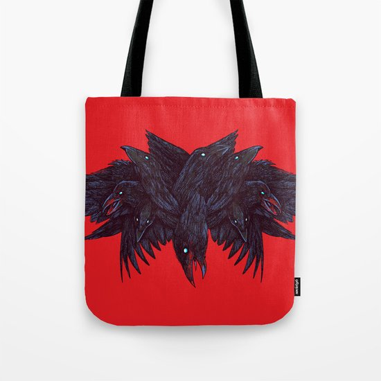 Crowberus Tote Bag